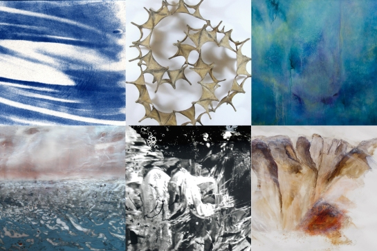 Elements: The State of Matter September 10-October 10 Opening Reception: September 10, 7-9 pm Artists Talk: October 10, 5pm Curated by Pam Rogers Mentor Curator: Trudi Van Dyke