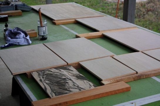 Prepping New Woodblocks2