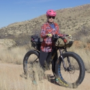 Jenny and her URSA Major Fatbike